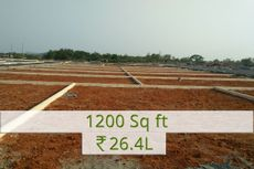 1200 sq.ft Rs.26.4L