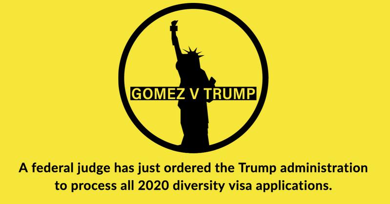 Questionnaire for Gomez v Trump Diversity Visa