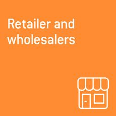 retailers and wholesalers