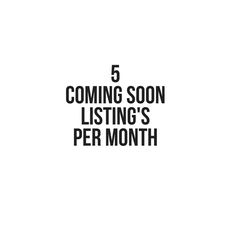 5 coming soon listing seats per month