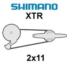 Shimano XTR 2x11