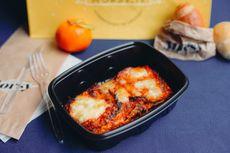 Parmigiana di melanzane [Allergeni: pan grattato (glutine), latte e prodotti derivati, uova]