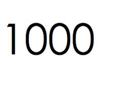 1000 stuks. €150,- ex btw.