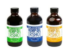 Real Scientific Hemp Oil™ Liquids