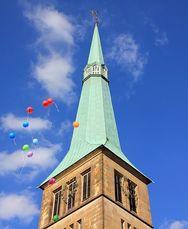 I en gammal kyrka