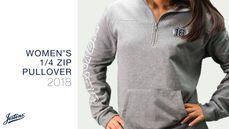 Women's 1/4 Zip Pullover - $40