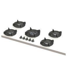 Elbrus XL | 2x klein, 2x middel, 1x wok-/sudder