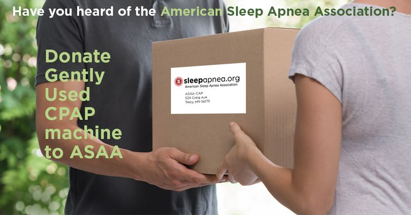 I have a CPAP Machine to Donate – Sleepapnea org