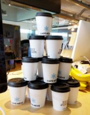 Coffee run.