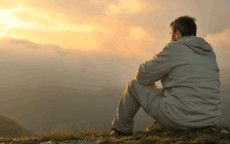 Man Contemplating