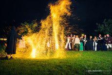 Feuer-/Lasershow