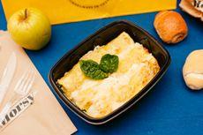 Cannelloni ricotta e spinaci: 8,5€ [Allergeni: latte, burro, ricotta, uovo, farina di grano tenero]