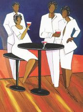 The White Party 30x24