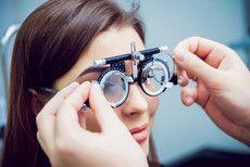 Gözlük muayenesi