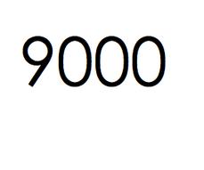 9.000 stuks. € 1350- ex btw.