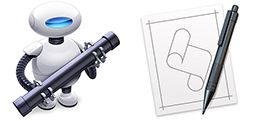 Picture for question I use Automator or Script Editor...