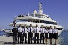 Yacht with Crew