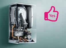 Add boiler service for half price - only £40 + Vat