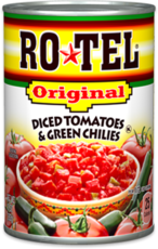 Mix canned ingredients together