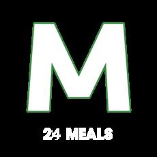Medium (550 avg. calories) - 24 MEALS
