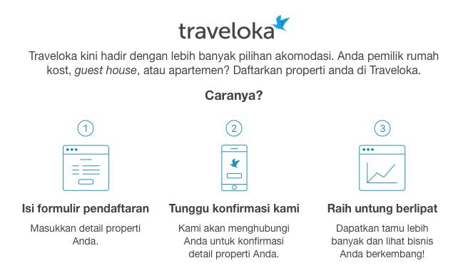 Daftarkan Properti Anda Di Traveloka