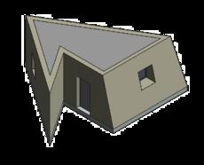 Bâtiment à géométrie complexe