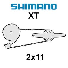 Shimano XT 2x11