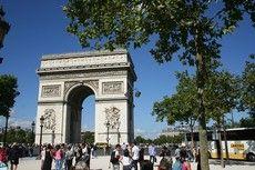 Champs Elysées & Arch of Triumph