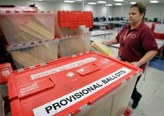 Provisional Ballot with emergency visit to Voter Registrar's office