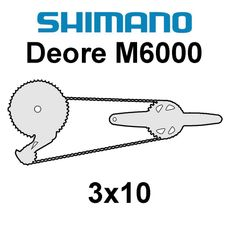 Shimano Deore 3x10
