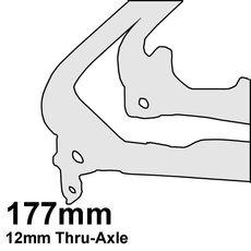 177mm Thru-Axle