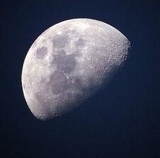 Rymdraket runt månen