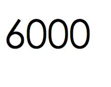 6.000 stuks. €900,- ex btw.