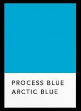 Насыщенный голубой