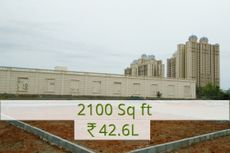 2100 sq.ft Rs.42.6L