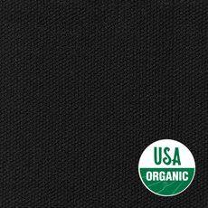 $90USD 11oz USA ORGANIC Duck Canvas Black